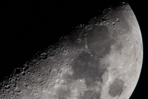 First Quarter Moon DSC_6670-4