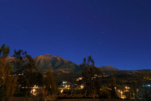 earl goedvolk cotacachi ecuador night stars volcano mountain sky