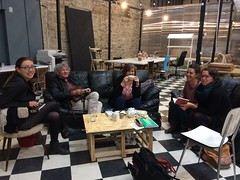 Quelques doc@brestois-es en force au C4 pour l'open tea du 22 mai 2017! (rue de siam à Brest)