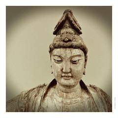 Seated Bodhisattva.