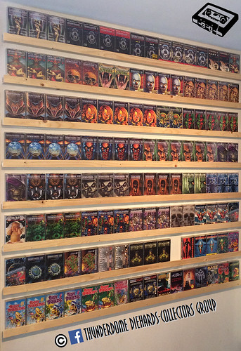 My Thunderdome cassette wall