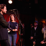 Mon, 08/05/2017 - 5:29pm - Father John Misty performs for WFUV members at Rockwood Music Hall in New York City, May 8, 2017. Hosted by Carmel Holt. Photo by Gus Philippas