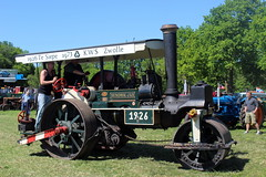 1926 Henschel & Sohn steam roller