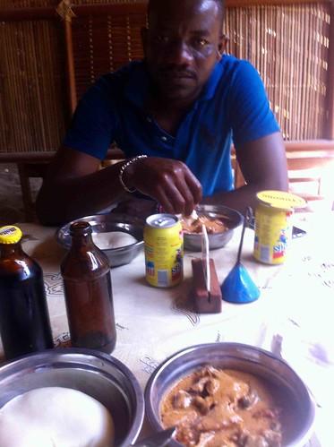 poundedyamandegusi lunchwithsamirleblanc cotonou benin jujufilms