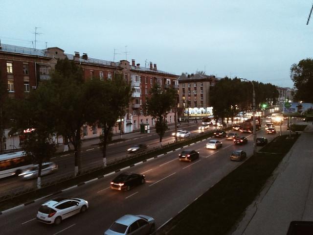 #Samara #Russia #beautifulsize #street #sky #vscocamera