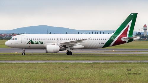 EI-DSX Alitalia Airbus A320-216