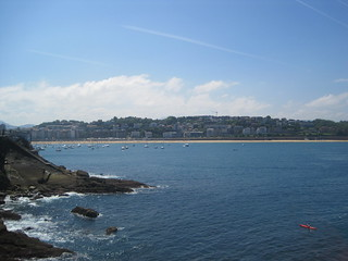 Bahía de la Concha en San Sebastián, Guipúzkoa