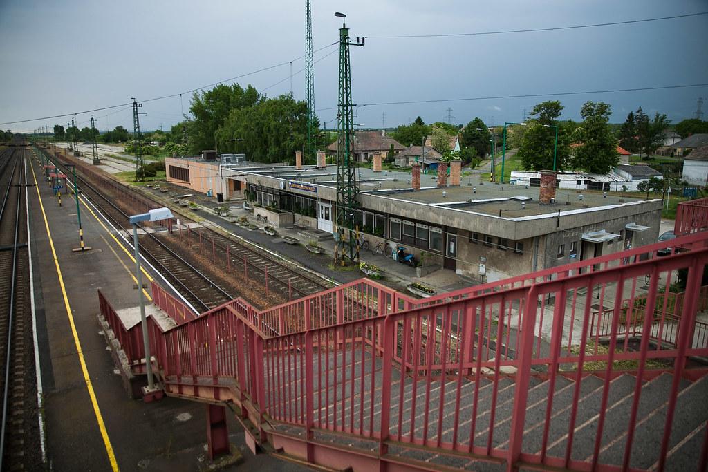 A lébényi állomás | Fotó: Magócsi Márton