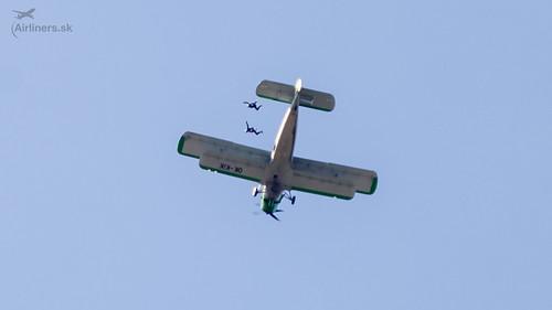 Výsadok z AN2 - Compact Skydive
