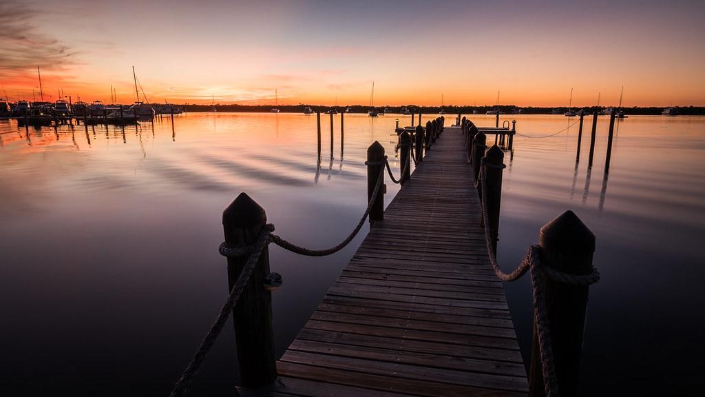 Key Largo at sunset time, Florida, United States picture