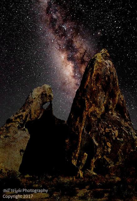 Milky Way Over Alabama Hills