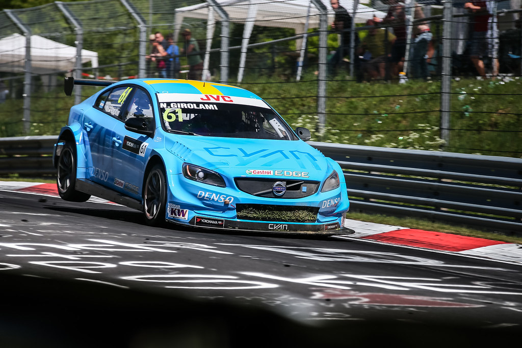 61 GIROLAMI Nestor (arg), Volvo S60 Polestar team Polestar Cyan Racing, action during the 2017 ETCC European Touring Car Championship race at Nurburgring, Germany from May 26 to 28 - Photo Antonin Vincent / DPPI
