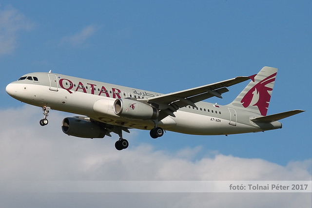 A7-ADH / Airbus A320-232 / Qatar Airways