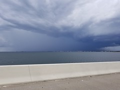 Clouds over Tampa Bay