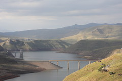 The catchment area of the Katse Dam in Lesotho, which flows into South Africa. Credit: Campbell Easton/IPS