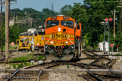 BNSF 4029 | GE C44-9W | BNSF Thayer South Subdivision