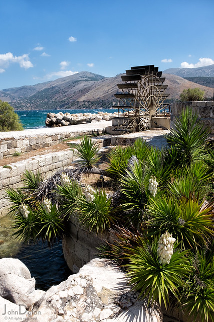 katavothres water wheel | kefalonia
