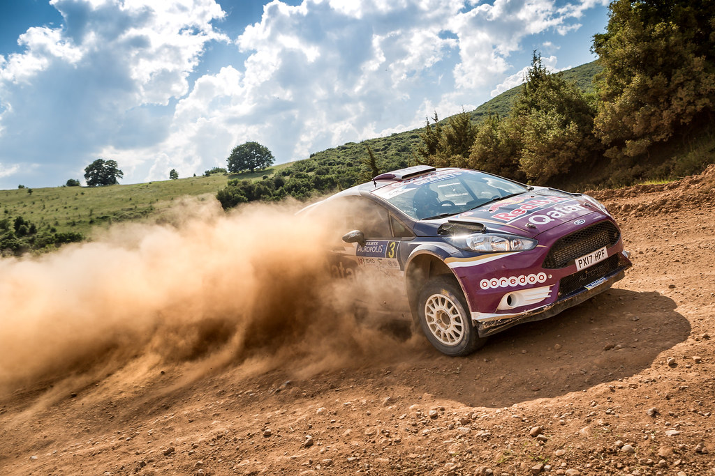 03 AL ATTIYAH Nasser (qat) and BAUMEL Matthieu (fra) action during the European Rally Championship 2017 - Acropolis Rally Of Grece - From June 2 to 4 - Photo Thomas Fenetre / DPPI