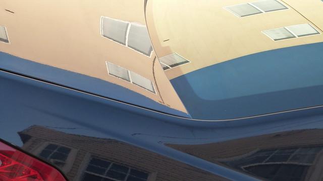 A14965 / car reflection abstract, Panasonic DMC-FZ47