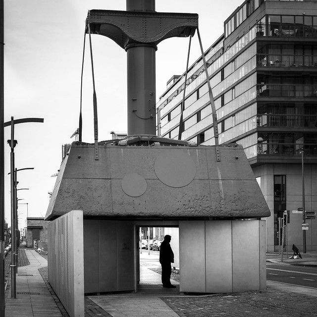 The Diving Bell - Dublin, Ireland - Black and white street photography