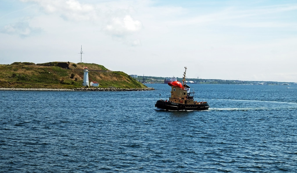 Theodore the Tugboat in Halifax Harbour