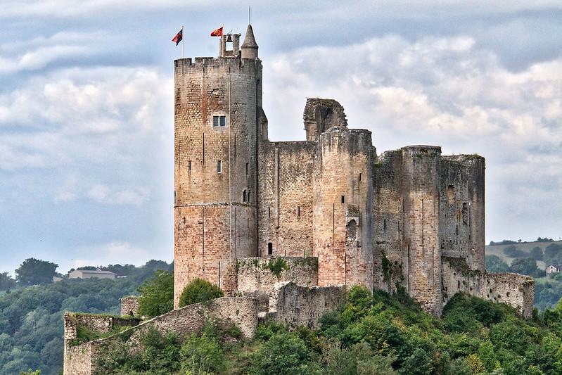 Najac Castle - Château de Najac (France)