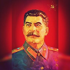 Vector Illustration : Joseph Stalin