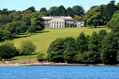 Trelissick House From the River Fal. Nikon D3200.DSC_0282.