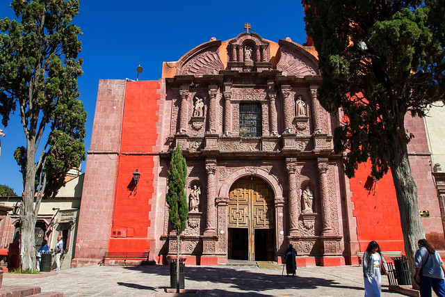 Temple of the Oratory of San Felipe Neri | Templo del Oratorio de San Felipe Neri