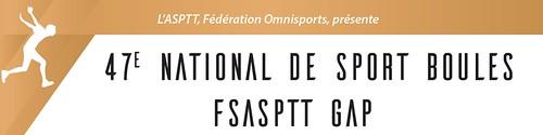 National FSASPTT de Sport Boules 2017