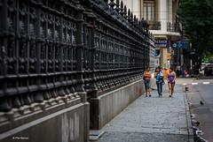 Strolling by El Congreso, Buenos Aires