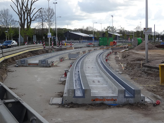 Utrecht: Tram Line Construction