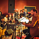 Mon, 15/05/2017 - 6:40pm - Dan Auerbach performs for a small group of WFUV members at Electric Lady Studios in New York City, 5/15/17. Hosted by Rita Houston. Photo by Gus Philippas