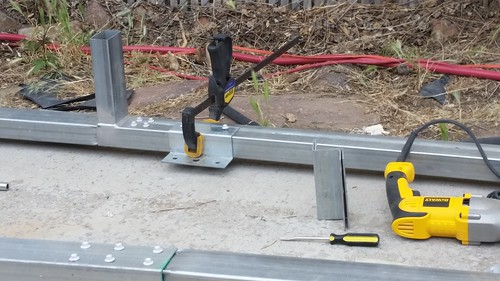 Securing the Base Rails