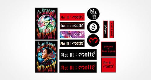 G-Dragon MOTTE Merchandise (10)