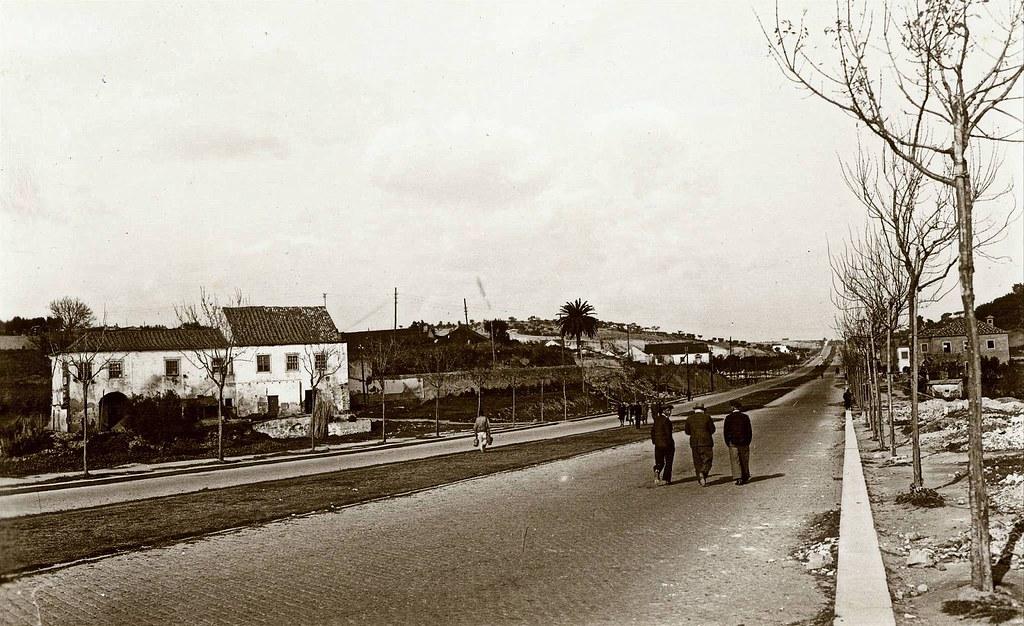 Avenida do Aeroporto, Lisboa (anón., c. 1944)