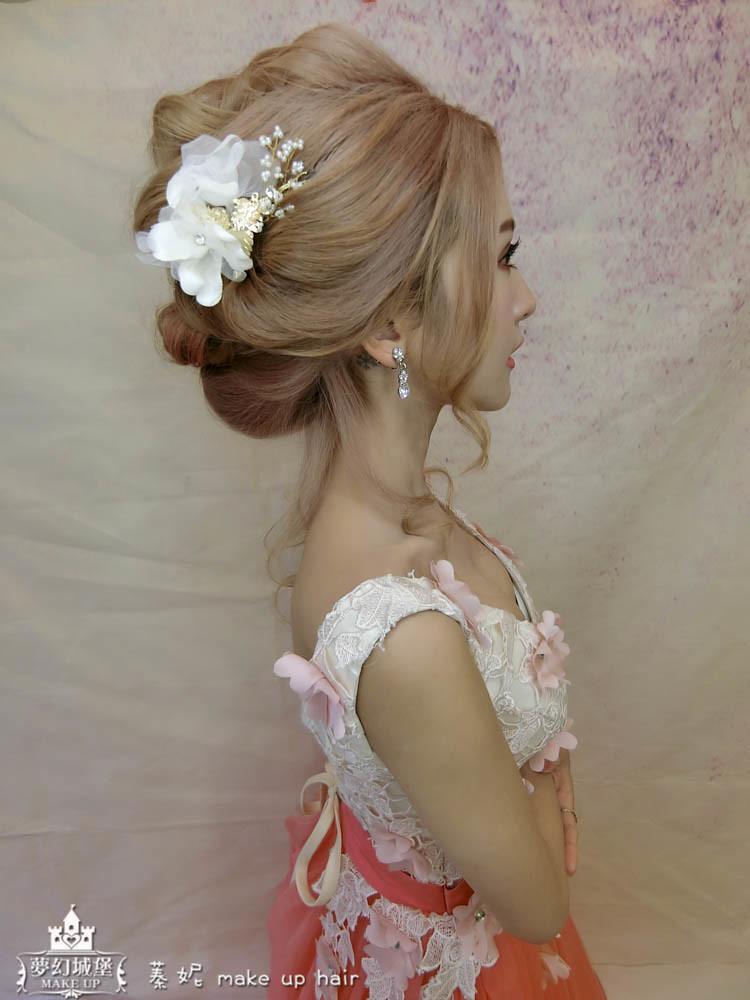 【新秘蓁妮】新娘造型創作 / 日系盤髮