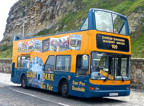 W458 BCW 'Shoreline Suncruisers' Volvo B7TL / Plaxton President on 'Dennis Basford's railsroadsrunways.blogspot.co.uk'