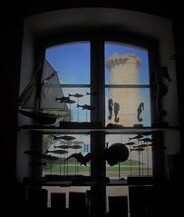La tour des baleines, ancienne école des gardiens de phare .