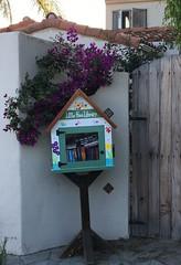 Little Free Library. Mid-Town Ventura, California