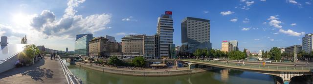Donaukanal bei Schwedenbrücke