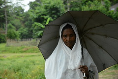 Woman in Maungdaw, Myanmar