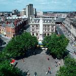 Market Square, Market Street, Preston. 1981