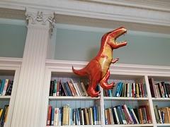 T-rex in Doe Library