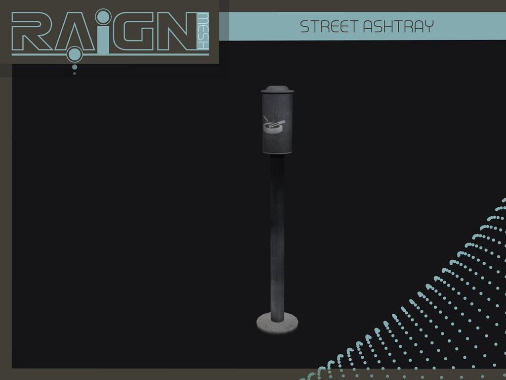 ::RAIGN:: Street Ashtray - SecondLifeHub.com