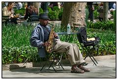 Blues at Noon - Bryant Park | New York City
