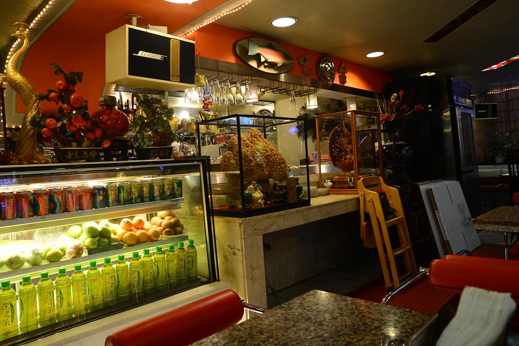 東一排骨店內 2012-10-02