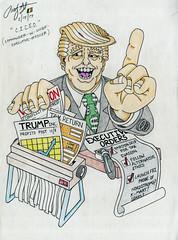 Commander-in-CEO Trump