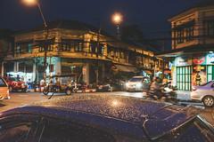 Rain drop old town Bangkok
