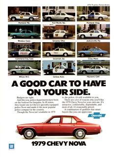 1979 Chevrolet Nova Police Car